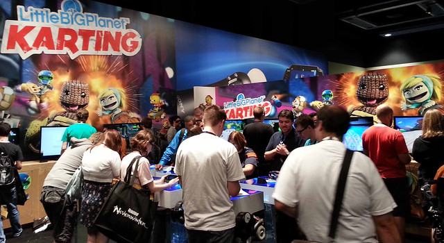 LittleBigPlanet Karting at PAX 2012