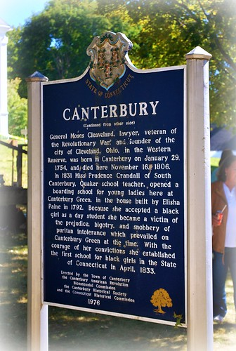 Canterbury Sign