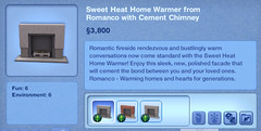 Home Heat Home Warmer from Romanco with Cement Chimney