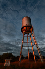 Water Tower and Hut_9960_.jpg by Mully410 * Images