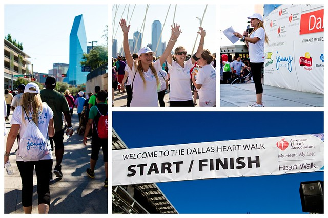 Heart Walk Collage