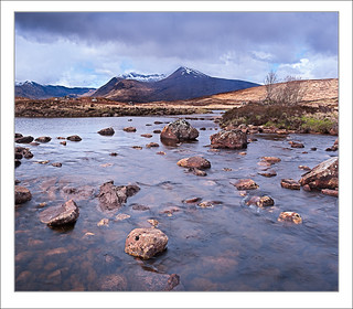 Black Mount from Rannoch Moor /