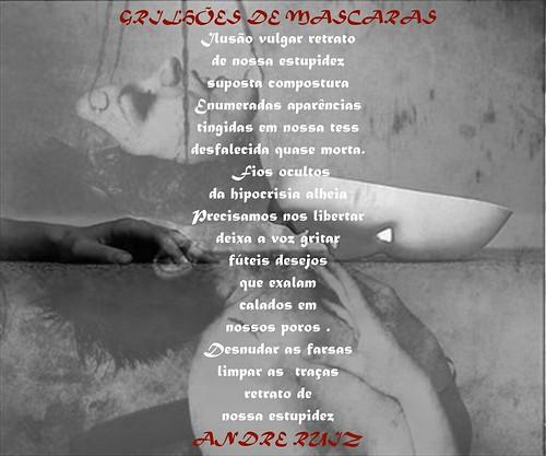 GRILHÕES DE MASCARAS by amigos do poeta
