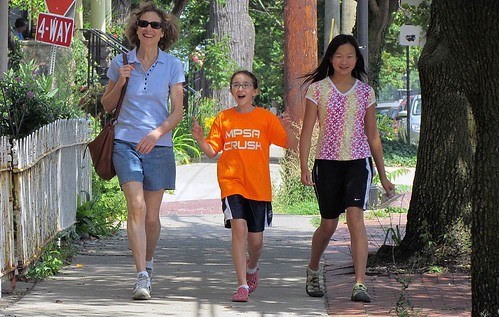 walking (courtesy of the Walkable and Livable Communities Institute)