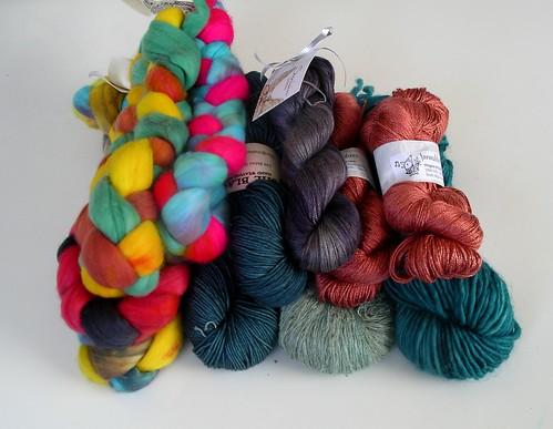 Knitter's Fair haul 2012