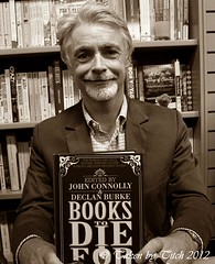 Eoin Colfer with Books To Die For, photo by Ger Holland