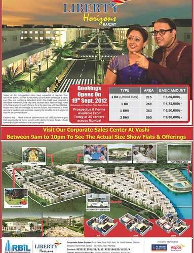 Liberty Horizons Karjat - 1 RK, 1 and 2 BHK starts Rs. 4.75 Lakh onwards by jungle_concrete