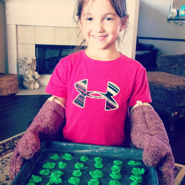Green, PlayDoh cookies anyone?!?!