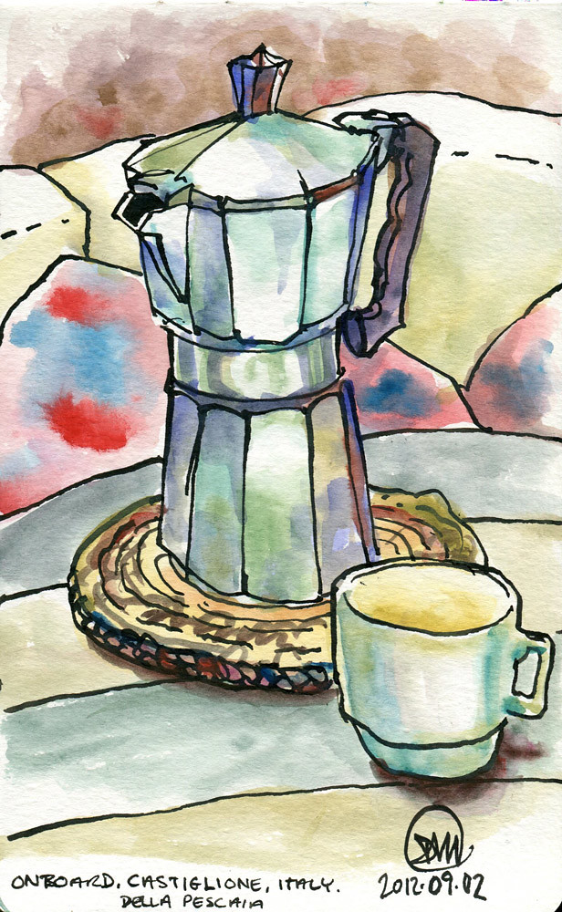 Espresso time by David Meldrum