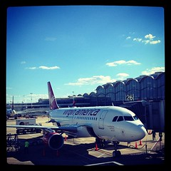 Looking good at DCA @virginamerica