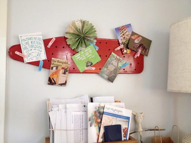 cute little mail board