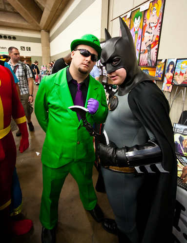 Riddler and Batman
