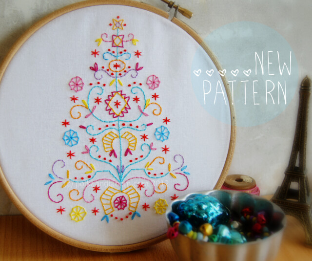 Tree of joy - new pattern