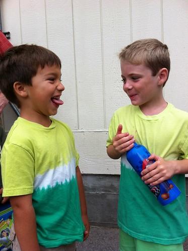 Finn and Charlie match