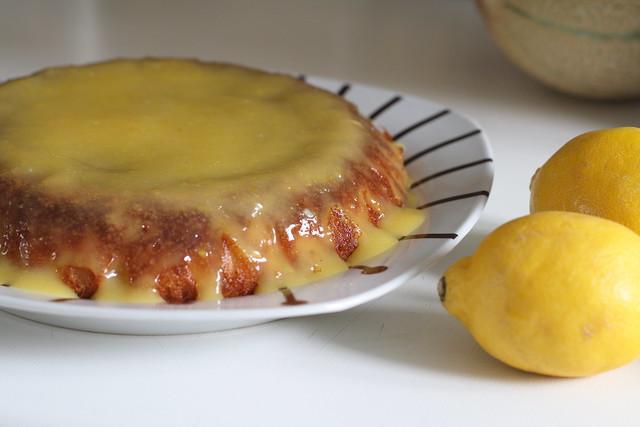 Tarta de limón con lemon curd
