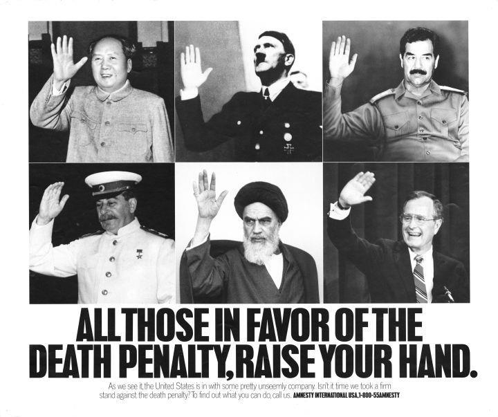 50 lat Amnesty na plakatach