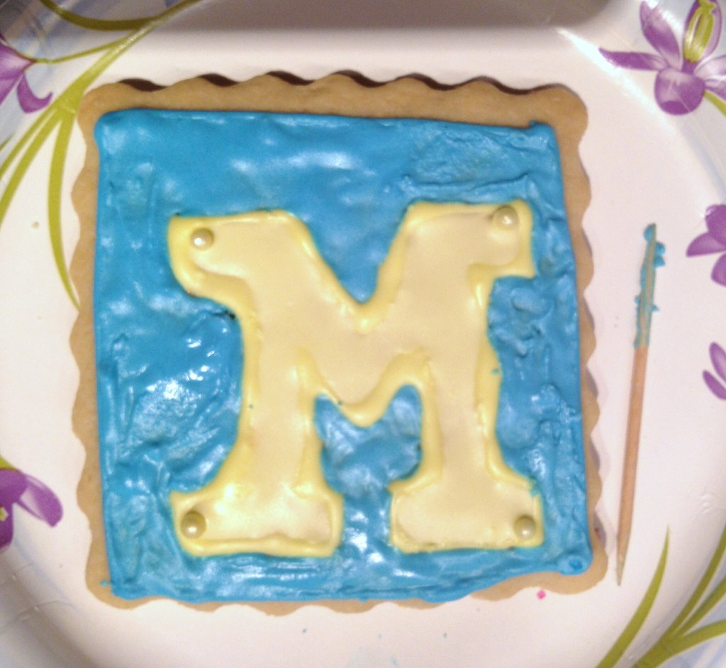 Block M cookie