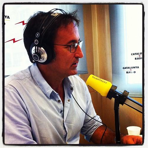 Amb en Xavier Graset a L'oracle de Catalunya Ràdio #barcelona #catalunya #periodisme #ràdio #igersbarcelona