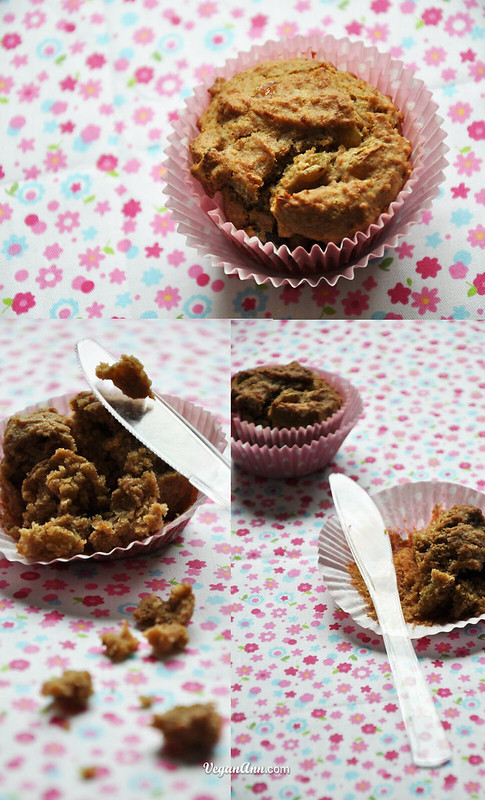 Rye Muffins with Longan and Raisins | VeganAnn