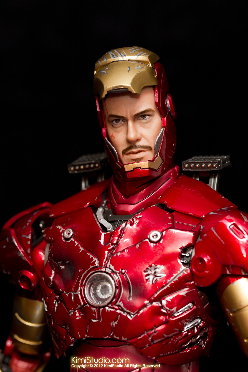 2012.09.13 MMS110 Hot Toys Iron Man Mark III 戰損-015