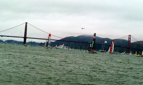 sailing golden gate america's cup