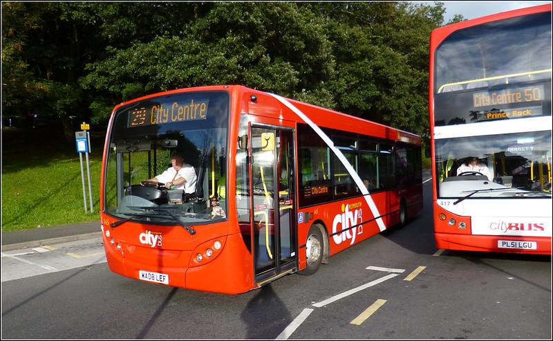 Plymouth Citybus 145 WA08LEF
