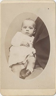 Baby with a Hidden Father Carte de Visite