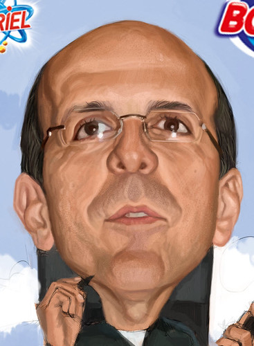 digital caricature for P&G - 4