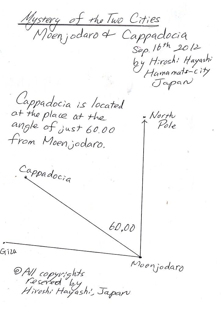 Mystery of Moehenjodaro and Cappadocia by Hiroshi