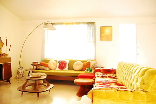 living room in full sun