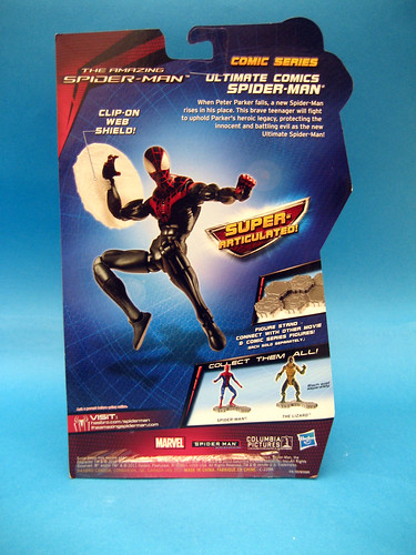 Miles Morales Action Figure Package Back