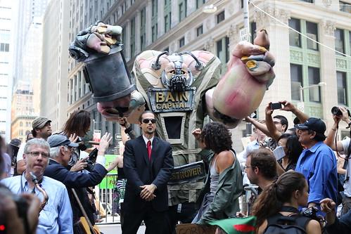 Bain Capital at Occupy Wall Street