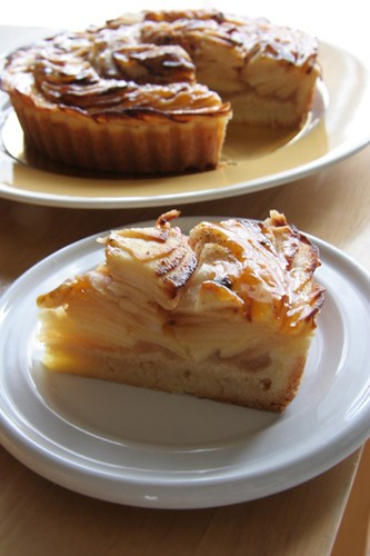 2012年10月フランス菓子教室ステップアップコース「タルト・オ・ポム」