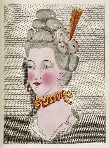 009-L'Art de la Coiffure des Dames Françaises…1767-Monsieur Legros