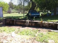 New vegetable garden bed