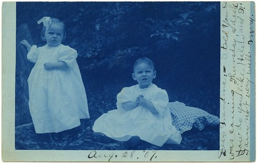 Helen and Mary, Friedens, Pa., Aug. 28, 1907