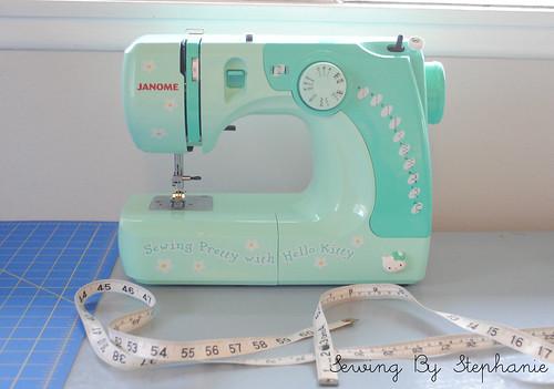 New 3/4 Size Sewing Machine