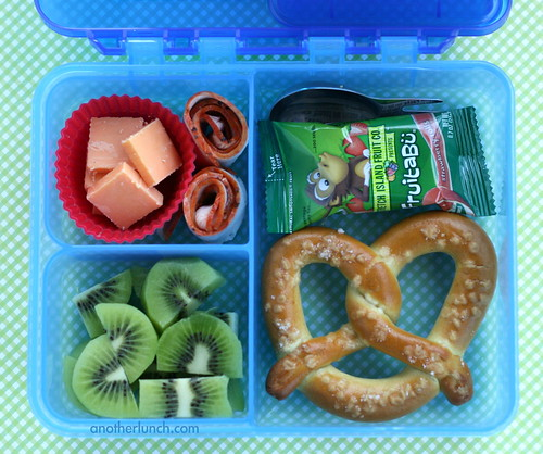 Gerber box pretzel lunch