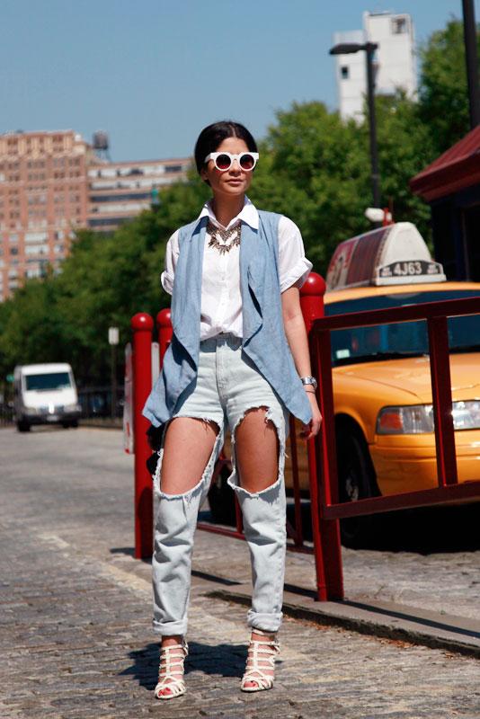 lainy_ss2013 street style, street fashion, NYC