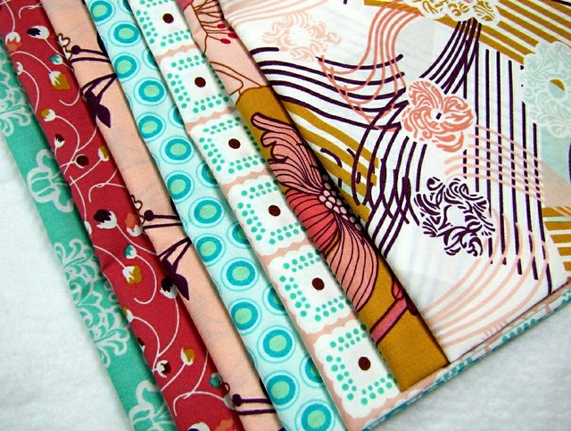 Summerlove Bundle for Friday's Fabric Giveaway with Canton Village Quilt Works!