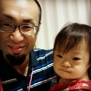 娘、RS+肺炎で入院