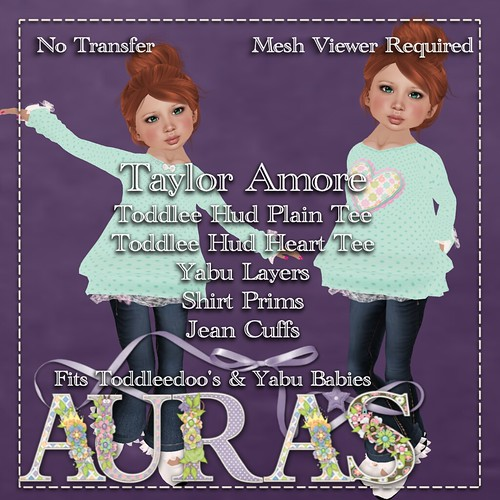 Taylor Amore in Teal for Yabus & Toddleedoo's by AuraMilev