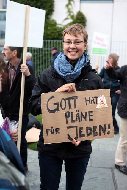 Berlin 22.09.2012 Abtreibung pro und contra  IMG_9914