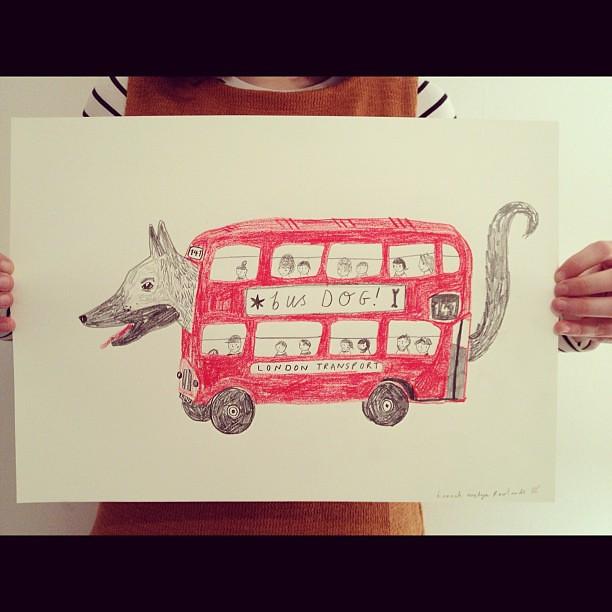 Bus Dog