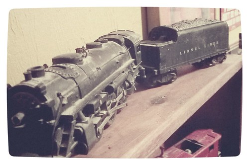 Dad's old train set