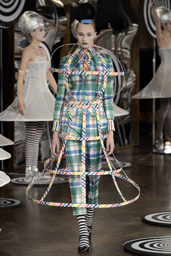 Thom Browne Spring 2013, image via Style.com