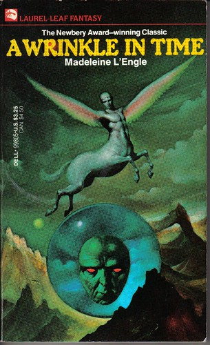book cover: fantastic image of winged creature and disembodied head in bubble
