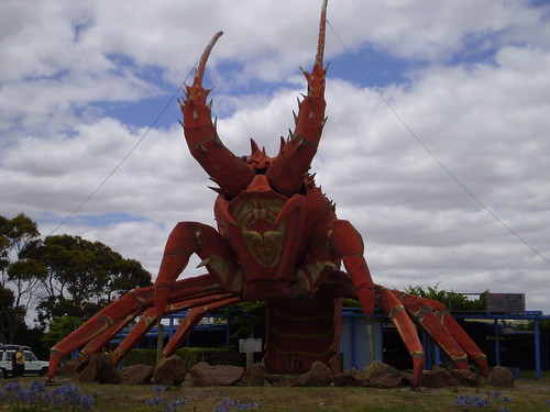 The Big Lobster, Kingston SE by holidaypointau