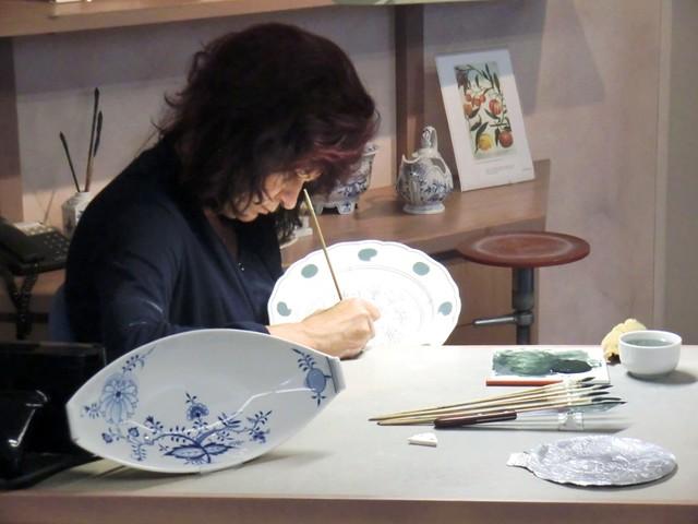 Meissen Porcelain Manufacturer - Painter