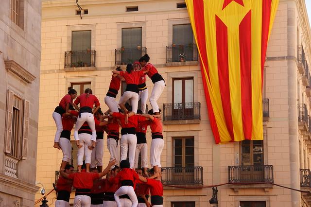 Building Human Towers in Spain - Flickr CC Stasiu Tomczak
